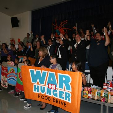 War on Hunger group of people