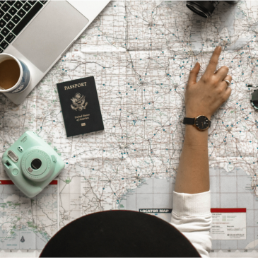 travel-plans-with-map-camera-passport