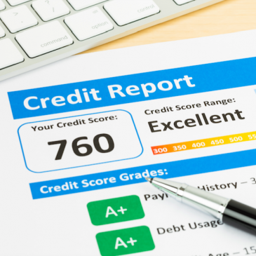 Credit Report Example Image